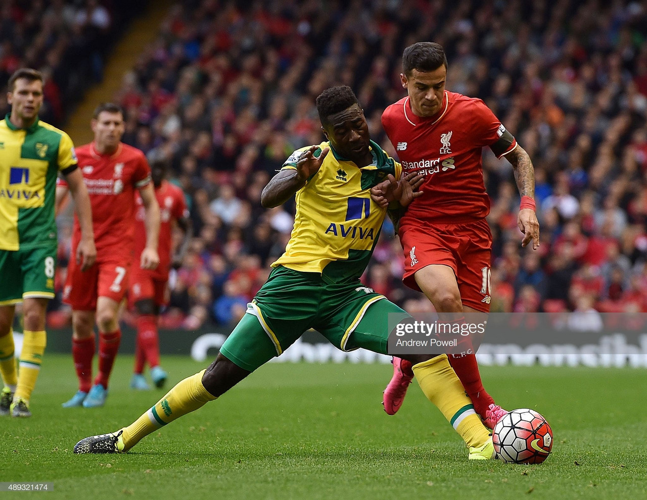 Alex Tettey: More influential than Jordan Henderson?