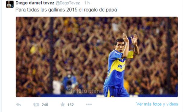 El hermano de Tevez encendió la llama de la esperanza en los hinchas de Boca