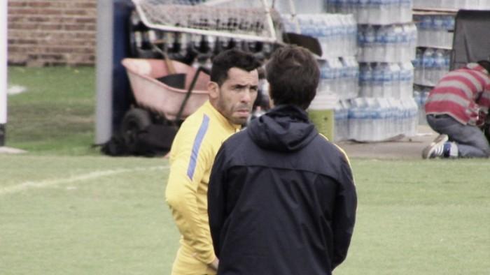 """Guillermo: """"Yo sabía de antemano que Tevez podía jugar de 9"""""""