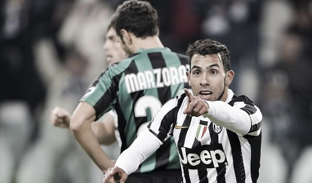 Resultado Juventus vs Sassuolo en vivo (1-0)