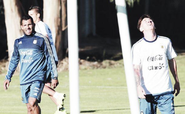 "Tevez: ""Con Messi nos reímos de todo lo que se dijo"""