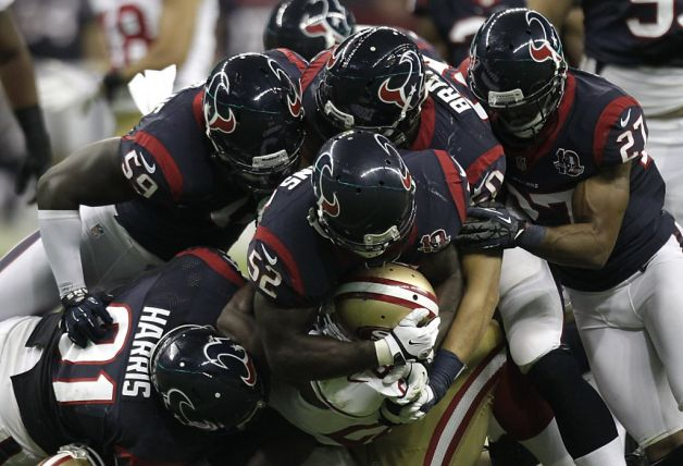 49ers y Texans no defraudaron en un intenso duelo