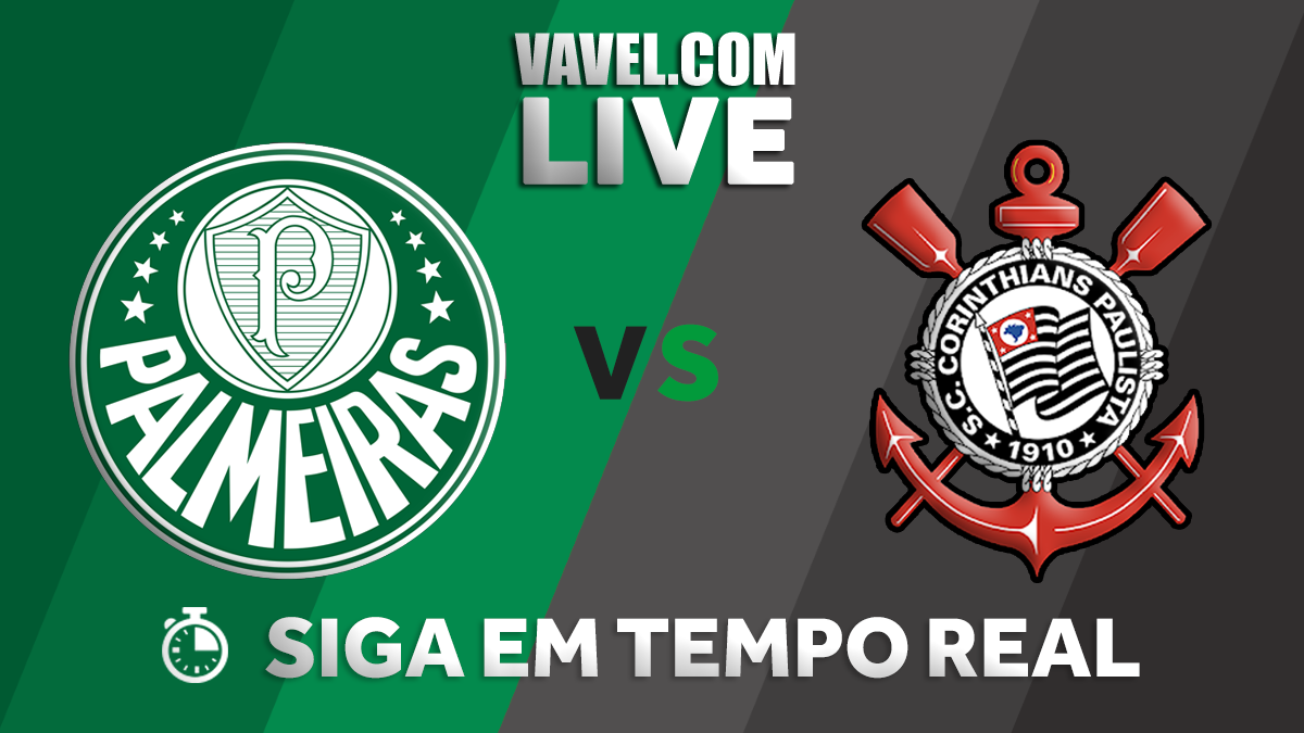 Resultado Palmeiras x Corinthians (0-1)