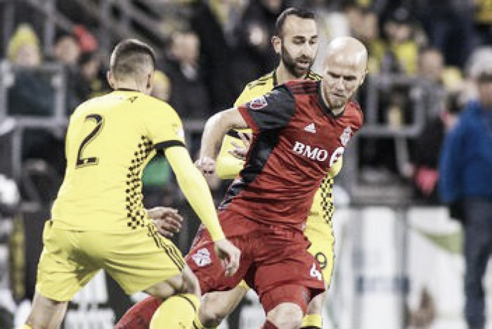 Result and Score of Toronto FC 1-0 Columbus Crew SC in Audi 2017 MLS Cup Playoffs