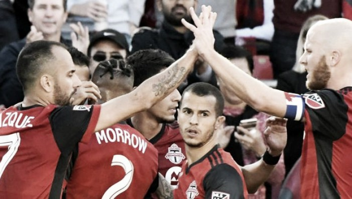 Rampant Toronto FC put four past San Jose Earthquakes