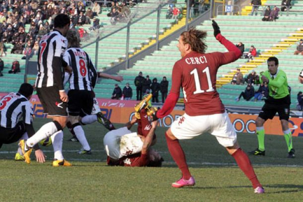Live Udinese - Torino in Serie A