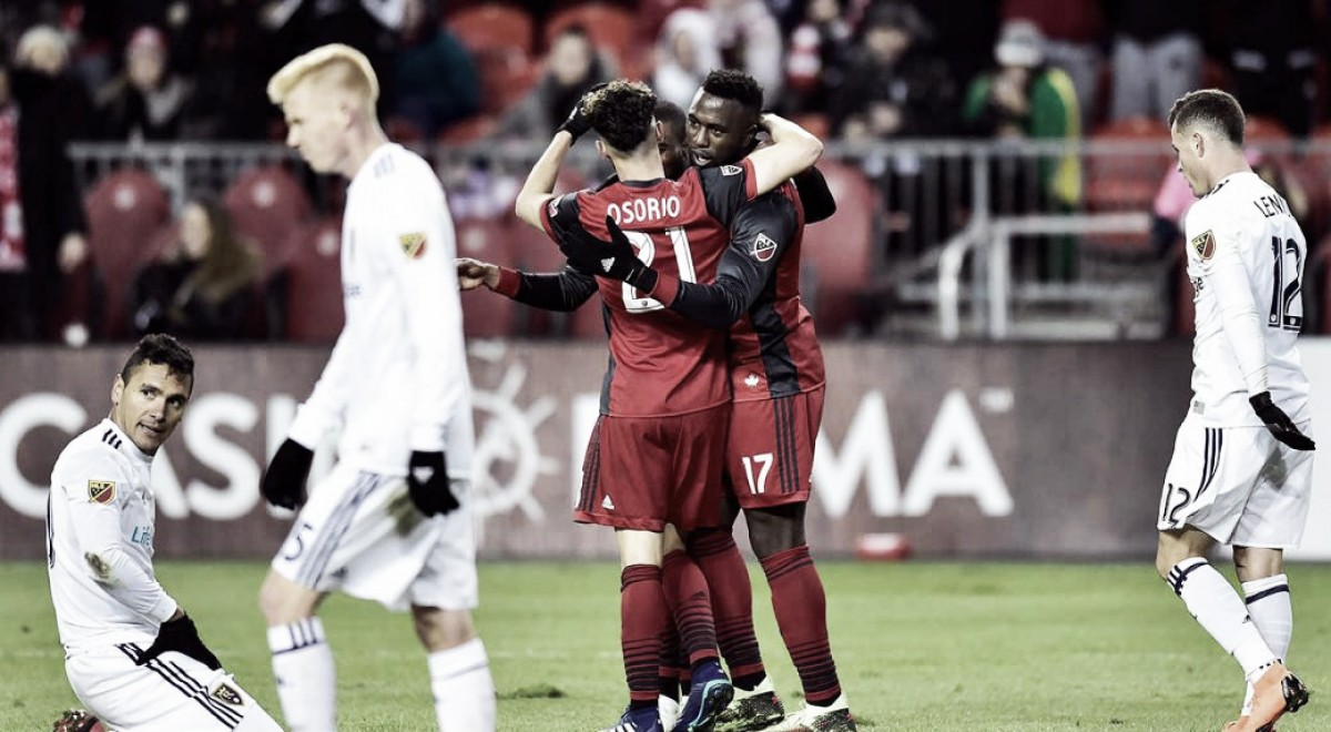Toronto FC ease past Real Salt Lake