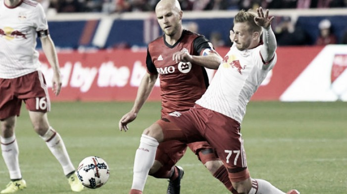 Toronto beat Red Bulls over two legs to reach MLS Eastern final