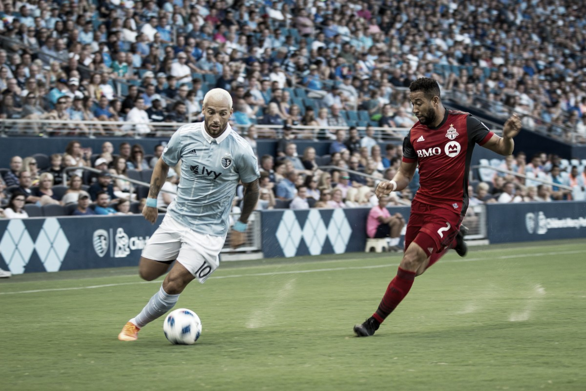 All square between Sporting Kansas City and Toronto FC