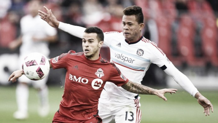 Toronto FC see off the Chicago Fire in a 3-2 home win