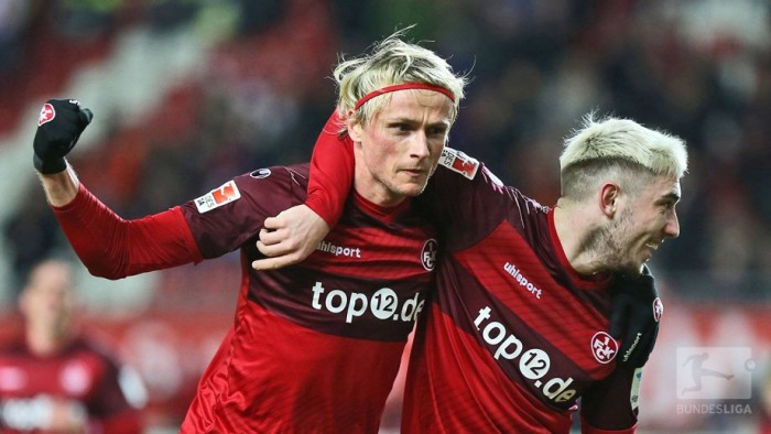 1. FC Kaiserslautern 3-0 SV Sandhausen: Red Devils delight in comfortable home win