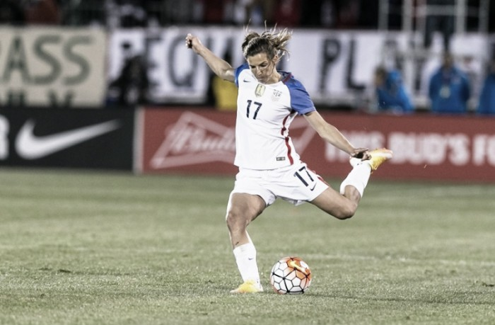 Injury rules Tobin Heath out of friendles against Canada