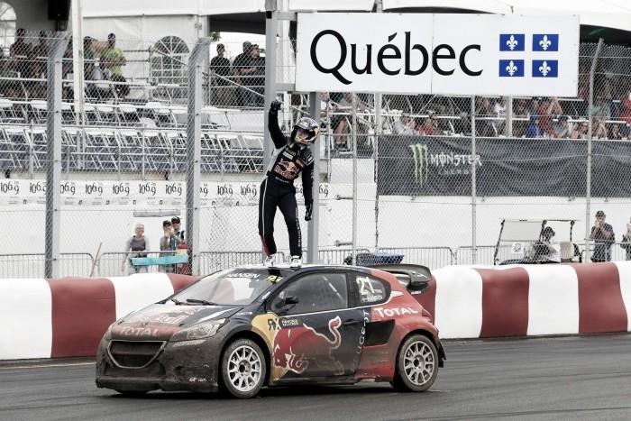 Timmy Hansen conquista vitória inesperada no Canadá pelo Mundial de Rallycross