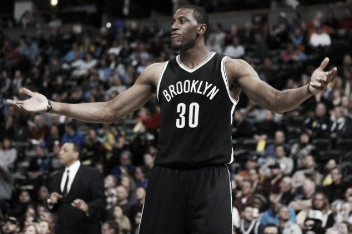 Indiana Pacers trade 20th pick in 2016 draft, future 2nd rounder for Brooklyn Nets Thaddeus Young