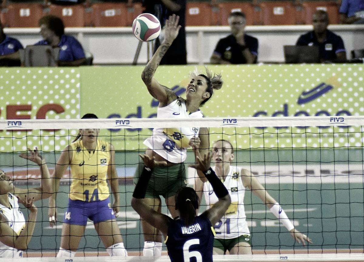 """Thaisa busca evolução em disputa de seu terceiro mundial de vôlei: """"Espero conseguir ajudar o Brasil"""""""