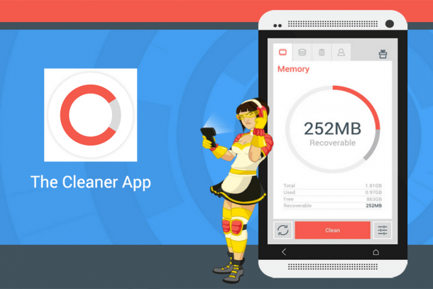 The Cleaner, el limpiador de Android que actúa a nivel global