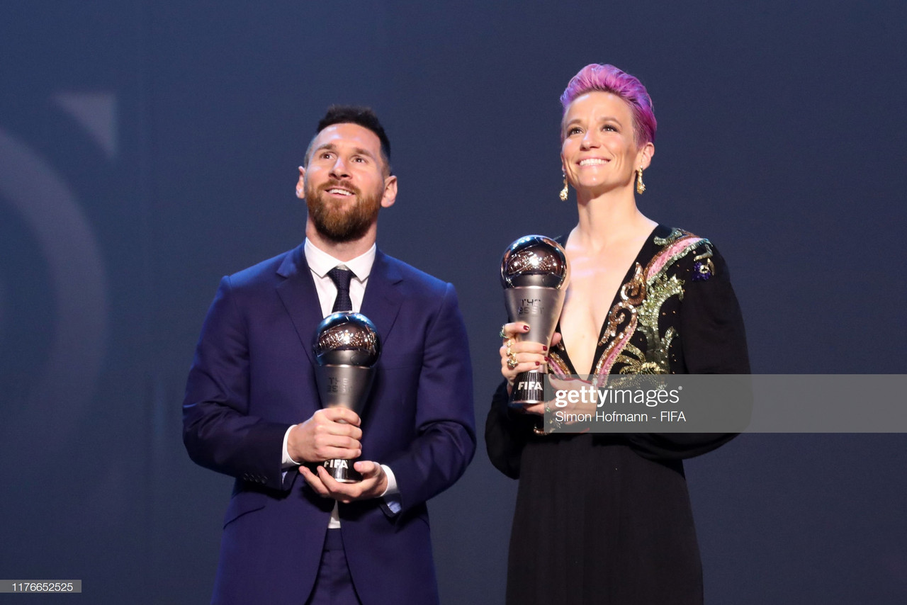 Messi vence The Best 2019