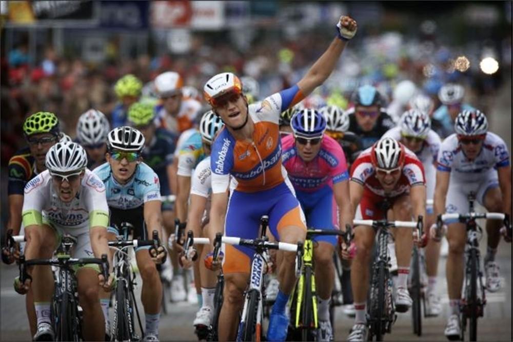 Theo Bos se alza con la victoria en la tercera etapa del Eneco Tour