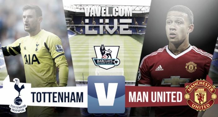 Tottenham Hotspur 3-0 Manchester United: As it happened