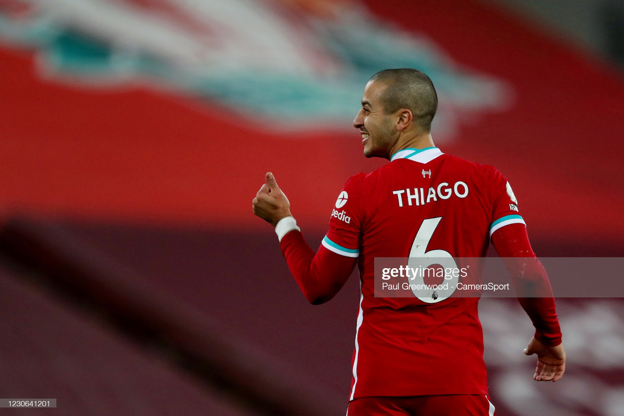 Jurgen Klopp backs 'world-class' Thiago Alcantara to be a success at Anfield – despite disappointing first campaign