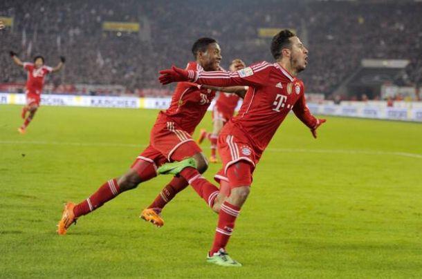 Thiago sauve le Bayern !