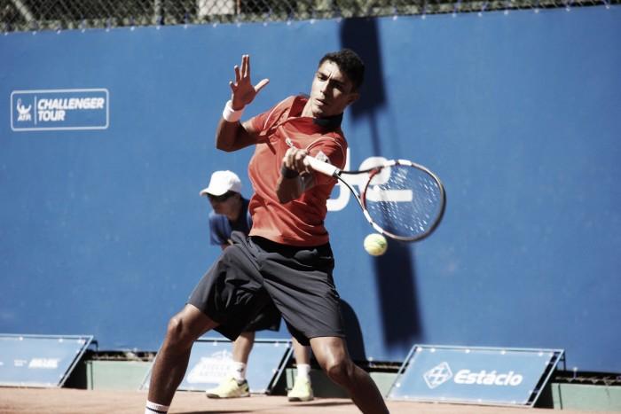 Em dia chuvoso, Thiago Monteiro é derrotado por Reister em Wimbledon