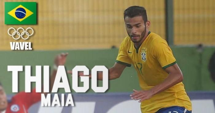 Rumo à Olimpíada: Thiago Maia, volante do Santos