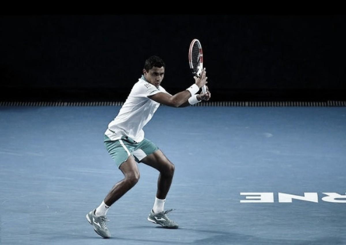 Arrasador, Thiago Monteiro bate Martin em menos de duas horas na estreia do Australian Open