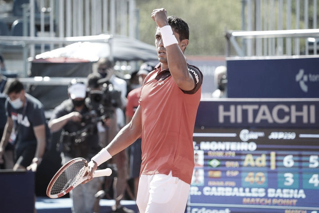 Horas antes de entrar em quadra, Thiago Monteiro desiste do Masters 1000 de Miami