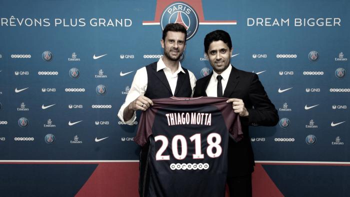 Thiago Motta continua no PSG — OFICIAL