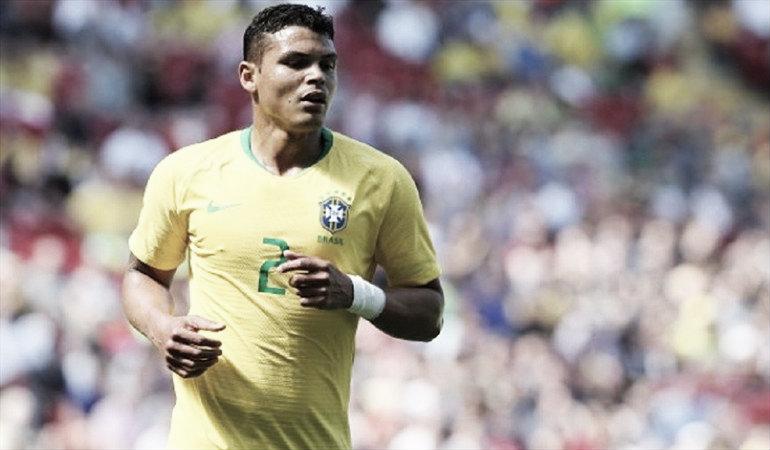 A Thiago Silva le gustaría jugar contra Chile