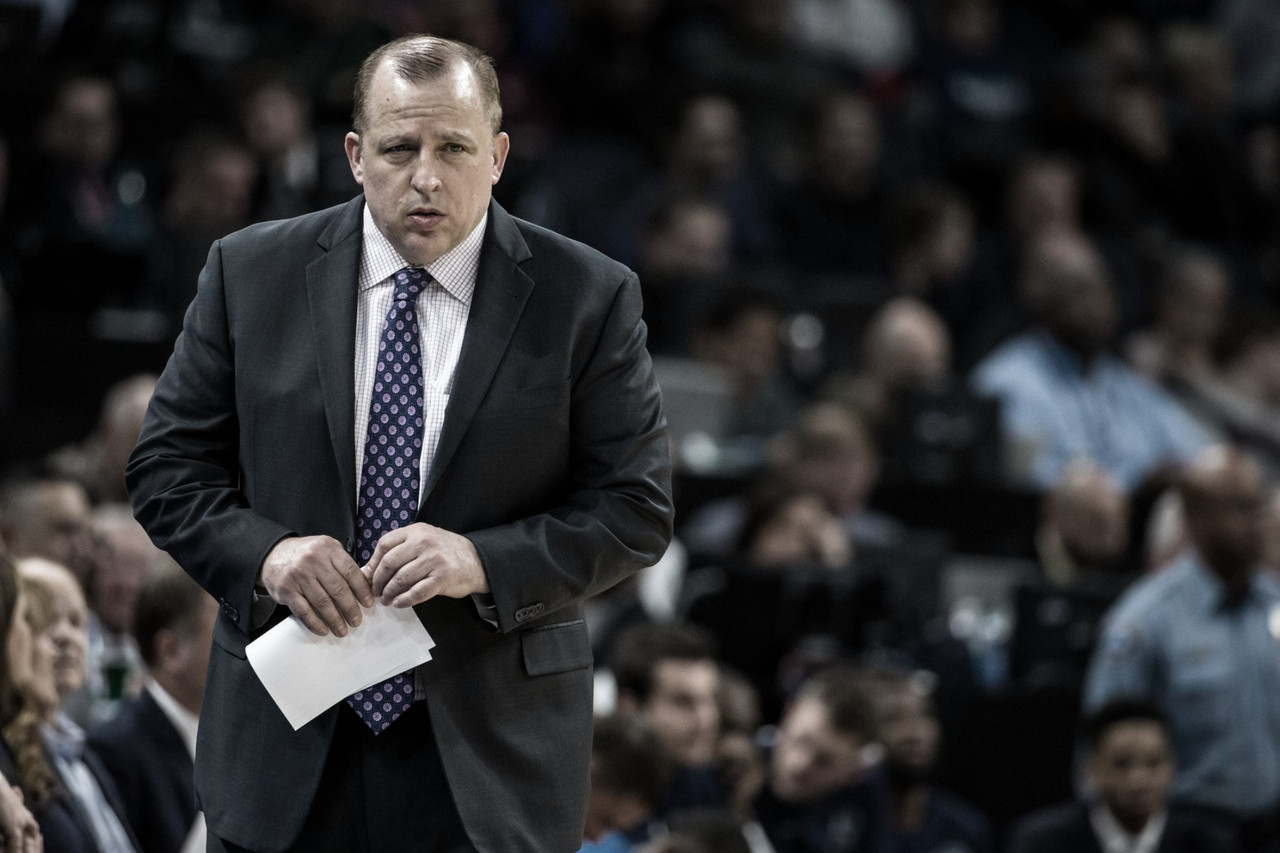 Tom Thibodeau, nuevo entrenador de los Knicks