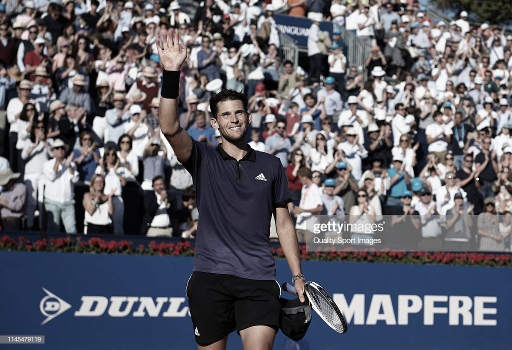 Dominic Thiem vuelve a enamorar al mundo del tenis