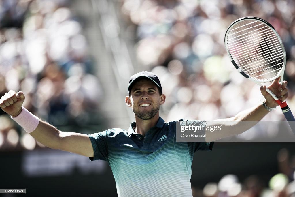 Thiem jugará la final en Indian Wells