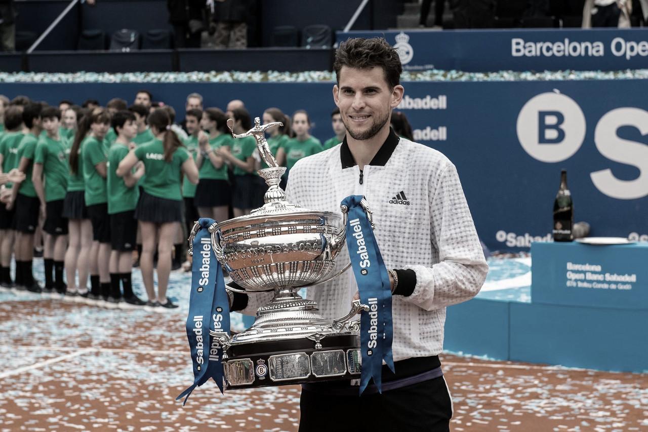 """Thiem: """"Nadal sigue como favorito en los torneos de arcilla"""""""