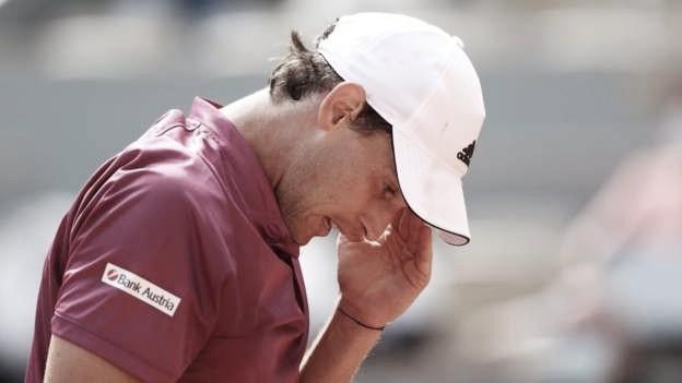 Thiem perde para Andújar e cai pela primeira vez na rodada de abertura em Roland Garros