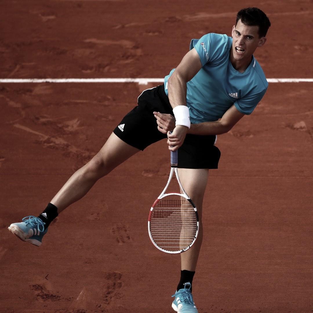 Thiem se complica, mas passa por Paul e avança à segunda rodada em Roland Garros