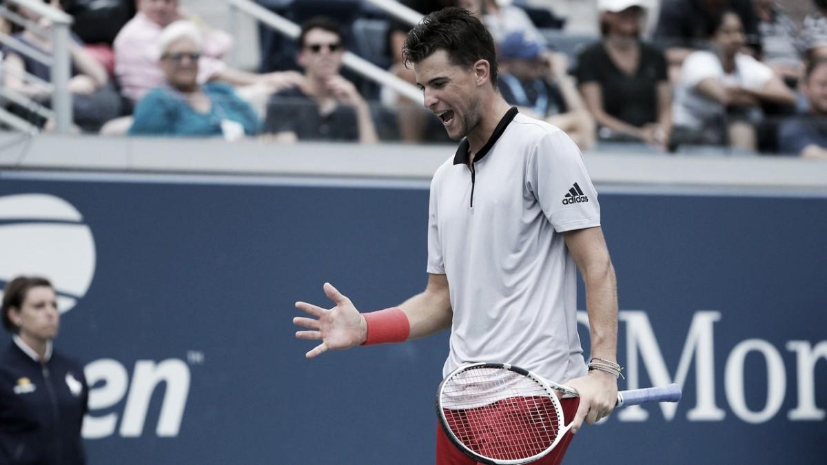 Thiem supera turbulências e elimina Fritz na terceira rodada do US Open