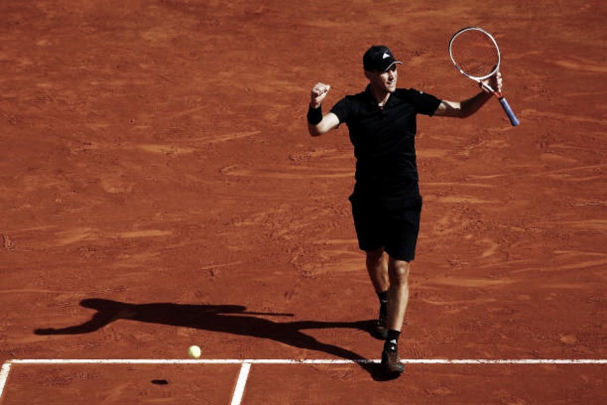 Thiem vira sobre Djokovic e vai às quartas em Monte Carlo