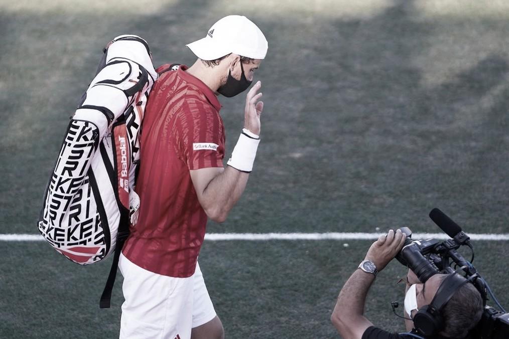 Lesión margina a Dominic Thiem de Wimbledon