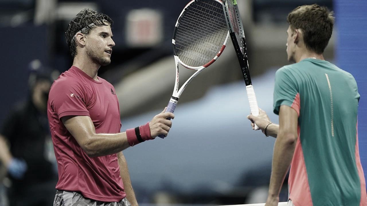 Thiem vence de Minaur e segue para enfrentar Medvedev por vaga na final do US Open