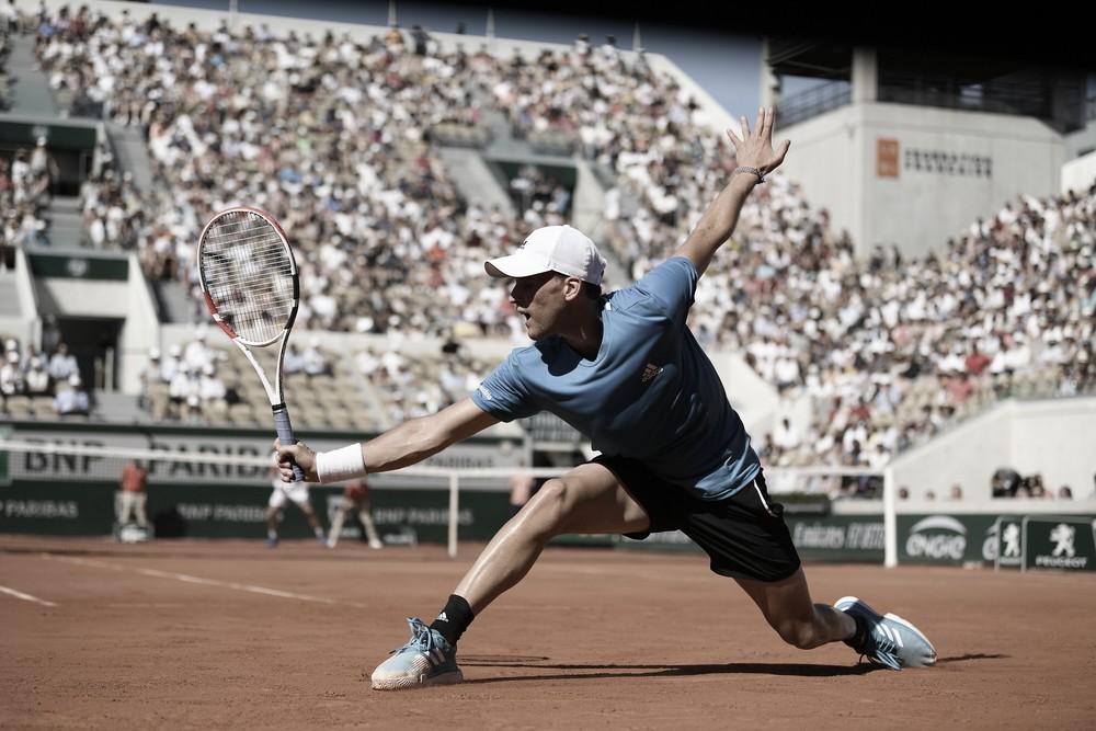 """Thiem é 'apressado' por Serena e abandona coletiva em Roland Garros: """"É uma piada"""""""