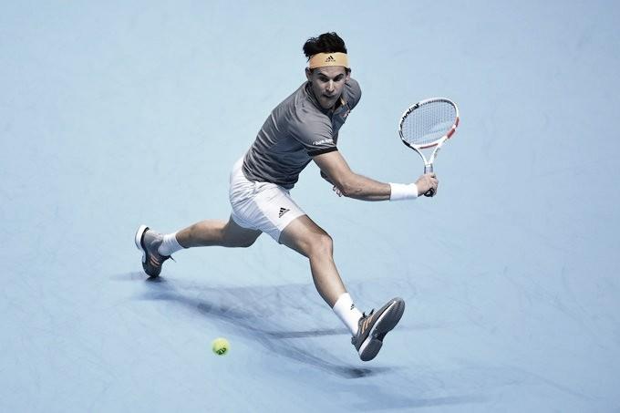 Thiem faz ótima exibição e vence Federer no ATP Finals