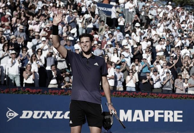 Thiem joga firme, desbanca Nadal e avança para a final do ATP 500 de Barcelona