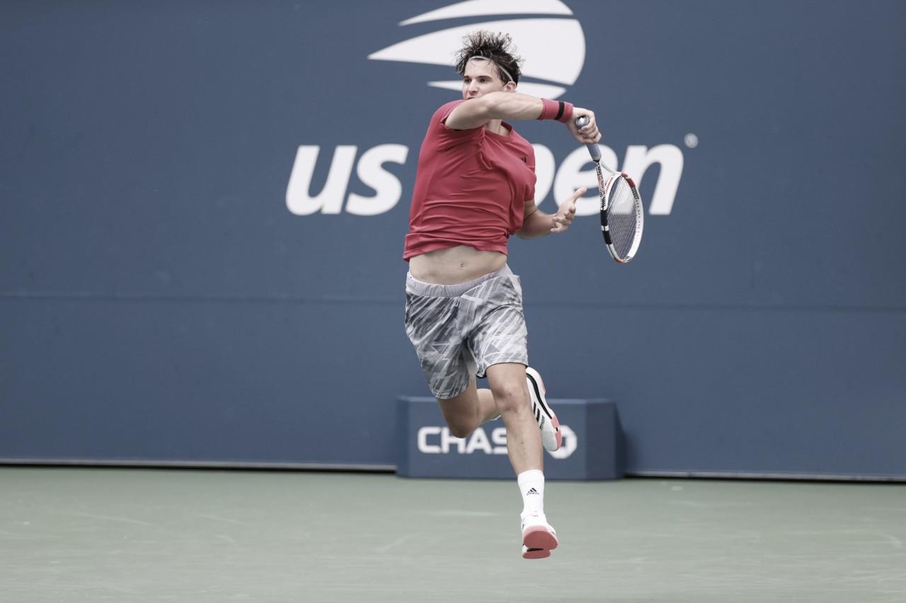 Presente de aniversário: Thiem passa fácil por Nagal no US Open no dia em que completa 27 anos