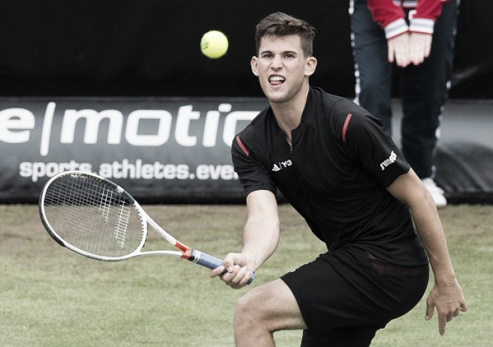 Thiem ousts Federer in 3 to reach finals