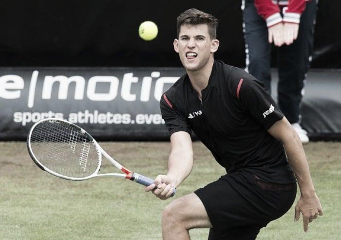 ATP Stuttgart: Dominic Thiem vanquishes Sam Groth to advance to the quarterfinals