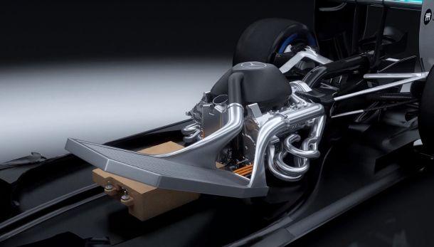 Solução criativa da Mercedes constrói motor vencedor