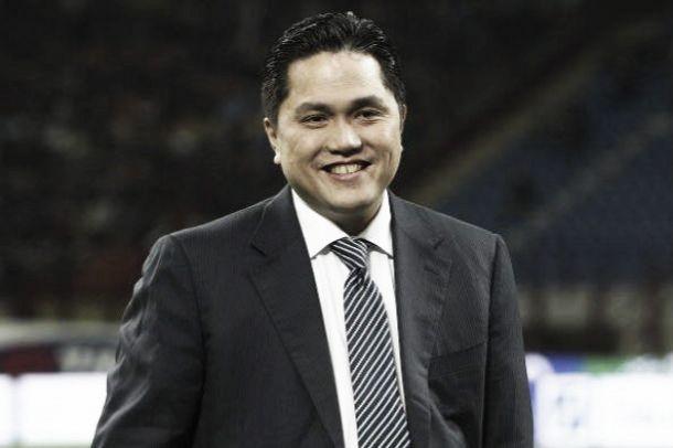 """Inter, Thohir: """"Stiamo lavorando per costruire una grande squadra"""""""