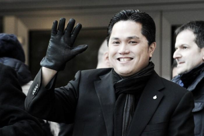 """Thohir si complimenta: """"Questa è la mia Inter"""""""